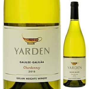 【6本〜送料無料】ヤルデン シャルドネ 2016 ゴラン ハイツ ワイナリー 750ml [白]Yarden Chardonnay Golan Heights Winery