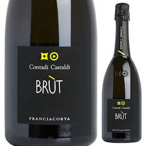 【6本〜送料無料】フランチャコルタ ブリュット NV コンタディ カスタルディ 750ml [発泡白]Franciacorta Brut Contadi Castaldi