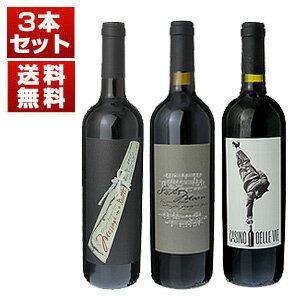 【送料無料】『ワインスペクテイターTOP100』イタリア第1位獲得「シスタームーン」で大注目!スティングのワイナリー「イル パラジオ」3本セット