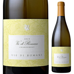【6本〜送料無料】ヴィエ ディ ロマンス シャルドネ 2015 750ml [白]Vie Di Romans Chardonnay