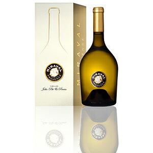 【6本〜送料無料】[ギフトボックス入り]ミラヴァル ブラン コート ド プロヴァンス 2013 ジョリー ピット アンド ペラン 750ml [白]Miraval Blanc C te De Provence Giftbox Jolie-Pitt & Perrin