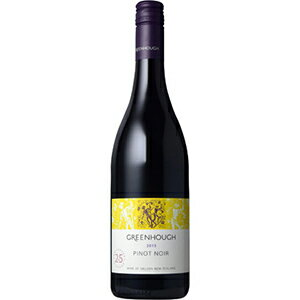 【6本〜送料無料】グリーンホフ ピノ ノワール 2015 750ml [赤]Greenhough Pinot Noir [スクリューキャップ]