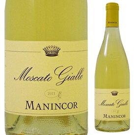【6本〜送料無料】モスカート ジャッロ 2018 マニンコール 750ml [白]Moscato Giallo Manincor
