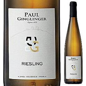 【6本〜送料無料】アルザス リースリング 2018 ポール ジャングランジェ 750ml [白]Alsace Riesling Paul Ginglinger