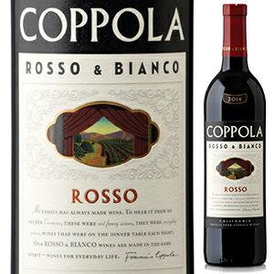 【6本〜送料無料】ロッソ& ビアンコ ロッソ 2016 フランシス フォード コッポラ ワイナリー 750ml [赤]Rosso & Bianco Rosso Francis Ford Coppola Winery
