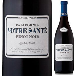 【6本〜送料無料】ヴォトル サンテ ピノ ノワール 2016 フランシス フォード コッポラ ワイナリー 750ml [赤]Votre Sant Pinot Noir Francis Ford Coppola Winery