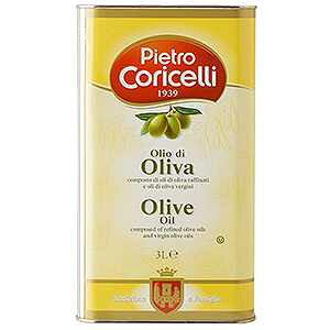 ピエトロ・コリチェッリ ピュア オリーブオイル 缶入り 3L