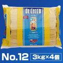 【送料無料】No.12 スパゲッティ (1.9mm) 3kg×4個 ディチェコ (DE CECCO)[同梱不可商品]