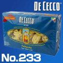 No.233 フェットゥッチーネ ニーディ セモラ 500g ディチェコ (DE CECCO)