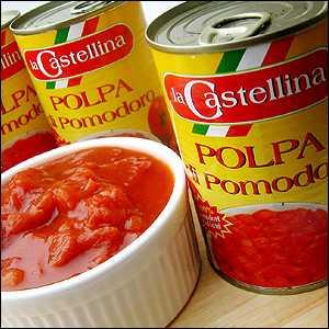 カットトマト缶