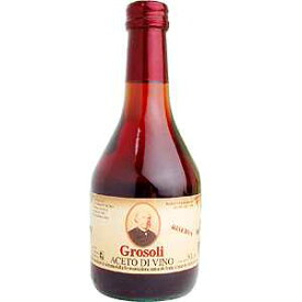イタリアン 赤ワインビネガー 500ml グロソリ