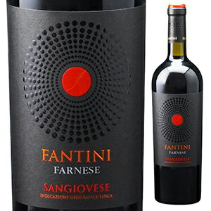 【6本〜送料無料】ファンティーニ サンジョヴェーゼ テッレ ディ キエーティ 2017 ファルネーゼ 750ml [赤]Fantini Sangiovese Terre Di Chieti Farnese