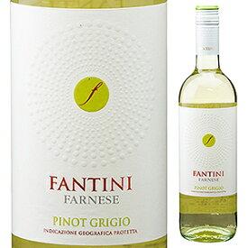 【6本〜送料無料】ファンティーニ ピノ グリージョ 2019 ファルネーゼ 750ml [白]Fantini Pinot Grigio Farnese