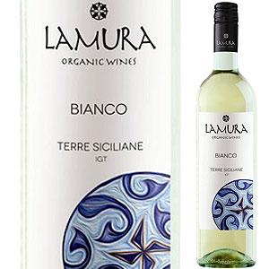 【6本〜送料無料】オーガニック ビアンコ 2016 ラムーラ ナチューラ シチリア 750ml [白]Organic Bianco La Mura Natura Sicilia [スクリューキャップ]