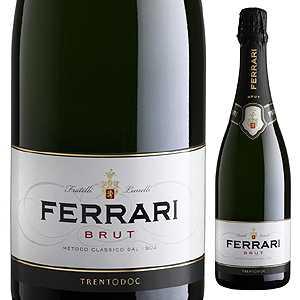 【6本〜送料無料】ブリュット NV フェッラーリ 750ml [発泡白]Brut Ferrari