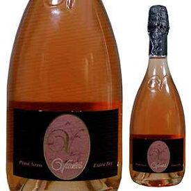 【6本〜送料無料】 [375ml]ピノ ネロ スプマンテ エクストラ ドライ ロザート パヴィア NV [ハーフボトル] ヴァンジーニ [発泡ロゼ]Pinot Nero Spumante Extra Dry Rosato Pavia Vanzini