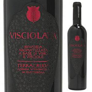 【6本〜送料無料】ヴィショラ NV テラクルーダ 500ml [甘口赤]Visciola Terracruda