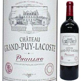 【6本〜送料無料】シャトー グラン ピュイ ラコスト 1992 750ml [赤]Grand Puy Lacoste