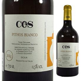 【6本〜送料無料】ピトス ビアンコ 2018 コス 750ml [白]Pithos Bianco C.o.s
