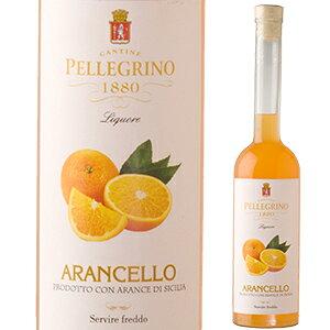 【6本〜送料無料】アランチェッロ NV ペッレグリーノ 500ml [リキュール]Arancello Pellegrino [オレンジ]