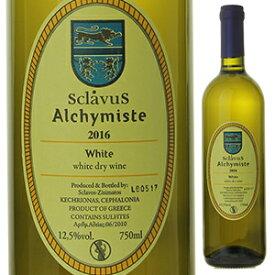 【6本〜送料無料】ヴァン ブラン ド ターブル アルシミスト 2020 ドメーヌ スクラヴォス 750ml [白]Vin Blanc De Table Alchymiste Domaine Sclavos [自然派]