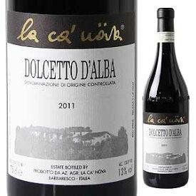 【6本〜送料無料】ドルチェット ダルバ 2018 ラ カノーヴァ 750ml [赤]Dolcetto D'alba La Ca'nova [ラ カ ノヴァ]