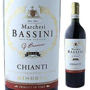 【6本〜送料無料】キャンティ リゼルヴァ 2014 マルケージ バッシーニ 750ml [赤]Chianti Riserva Marchesi Bassini