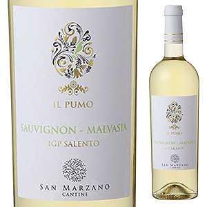 【6本〜送料無料】イル プーモ ソーヴィニヨン マルヴァジア 2017 サン マルツァーノ 750ml [白]Il Pumo Sauvignon Malvasia San Marzano Vini S.p.a. [マルヴァジーア]