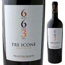 【6本〜送料無料】トレ イコーネ 663 NV ヴィニエティ デル サレント 750ml [赤]Tre Icone Vigneti Del Salento [ファ…