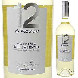 【6本〜送料無料】マルヴァジア デル サレント ドーディチ エ メッツォ 2019 ヴァルヴァリオーネ 750ml [白]Malvasia del Salento Dodici e Mezzo Varvaglione [マルヴァジーア]