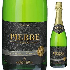 【6本〜送料無料】ピエール ゼロ ブラン ド ブラン NV ドメーヌ ピエール シャヴァン 750ml [白]Pierre Zero Blanc De Blancs Sarl Domaines Pierre Chavin [ノンアルコールワイン]