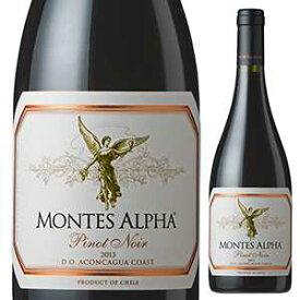 【6本〜送料無料】アルファ ピノ ノワール 2018 モンテス 750ml [赤]Alpha Pinot Noir Montes