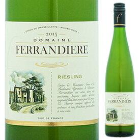 【6本〜送料無料】ドメーヌ フェランディエール リースリング 2018 d.A.ワイナリー (ジャン クロード マス) 750ml [白]Domaine Ferrandiere Reserve Riesling D.a. Winery (Jean Claude Mas) [スクリューキャップ]