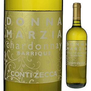 【6本〜送料無料】ドンナ マルツィア シャルドネ オーク樽熟成 2017 コンティ ゼッカ 750ml [白]Donna Marzia Chardonnay Barrique Azienda Agricola Conti Zecca