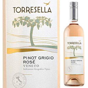 【6本〜送料無料】ピノ グリージョ ロゼ 2016 トッレゼッラ 750ml [ロゼ]Pinot Grigio Rose Torresella