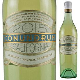 【6本〜送料無料】コナンドラム ホワイト 2015 ワグナー ファミリー オブ ワイン 750ml [白]Conundrum White Wagner Family of Wine [スクリューキャップ]