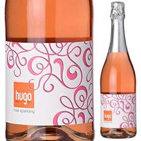 """【6本〜送料無料】ロゼ スパークリング フーゴ NV マルクス フーバー 750ml [ロゼ]Rose Sparkling """"Hugo"""" Markus Huber"""