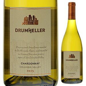 【6本〜送料無料】ドラムヘラー シャルドネ 2015 サン ミッシェル ワイン エステーツ 750ml [白]Drumheller Chardonnay St. Michelle Wine Estates