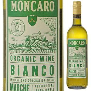 【6本〜送料無料】マルケ ビアンコ オーガニック 2016 モンカロ 750ml [白]Marche Bianco Organic Moncaro