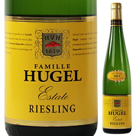 【6本〜送料無料】リースリング エステート 2015 ファミーユ ヒューゲル 750ml [白]Riesling Estate Famille Hugel
