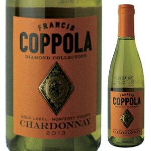 【6本〜送料無料】 [375ml]ダイヤモンド コレクション シャルドネ 2016 フランシス フォード コッポラ ワイナリー [ハーフボトル][白]Diamond Collection Chardonnay Francis Ford Coppola Winery