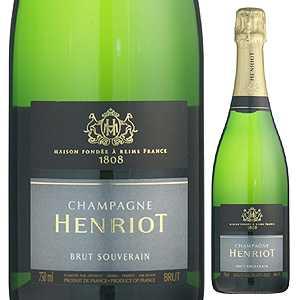 【送料無料】ブリュット スーヴェラン ジェロボアム NV シャンパーニュ アンリオ 3000ml [発泡白]Brut Souverain Champagne Henriot[同梱不可]