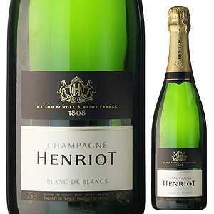 【6本〜送料無料】ブラン ド ブラン NV シャンパーニュ アンリオ 750ml [発泡白]Blanc De Blancs Champagne Henriot