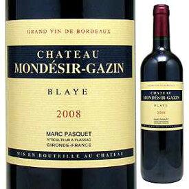 【6本〜送料無料】シャトー モンデジール ガザン ブライ 2012 750ml [赤]Chateau Mond sir Gazin Blaye