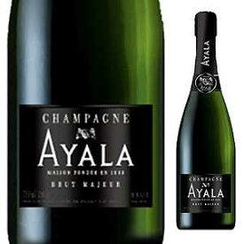 【6本〜送料無料】[ギフトボックス入り]シャンパーニュ ブリュット マジュール NV アヤラ 750ml [発泡白]Champagne Brut Majeur Ayala