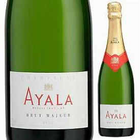 【6本〜送料無料】[ギフトボックス入り]シャンパーニュ ブリュット マジュール NV アヤラ 1500ml [発泡白] [マグナム・大容量]Champagne Brut Majeur Ayala