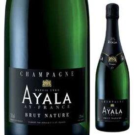 【6本〜送料無料】シャンパーニュ ブリュット ナチュール NV アヤラ 750ml [発泡白]Champagne Brut Nature Ayala