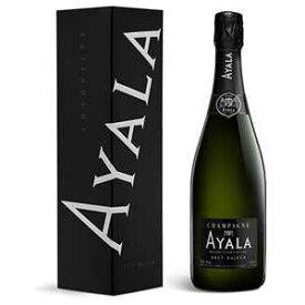 【6本〜送料無料】 [375ml][ギフトボックス入り]シャンパーニュ ブリュット マジュール NV アヤラ [ハーフボトル][発泡白]Champagne Brut Majeur Ayala