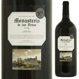 【6本〜送料無料】モナステリオ デ ラス ヴィーニャス クリアンサ マグナム 2016 グランデ ビニョス イ ビニェドス 1500ml [赤] [マグナム・大容量]Monasterio De Las Vinas Crianza Magnum Grandes Vinos y Vinedos