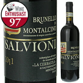 【送料無料】サルヴィオーニ ブルネッロ ディ モンタルチーノ 2013 ラ チェルバイオーラ 750ml [赤]Salvioni Brunello Di Montalcino La Cerbaiola [ブルネロ]